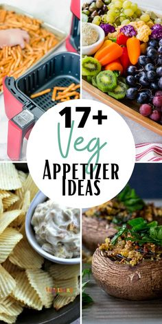 If you are looking for vegetarian appetizers or vegan appetizers, we have got you covered! This features vegetarian and some vegan appetizer ideas too! #vegetarianappetizers #veganappetizer #appetitizerrecipes Low Carb Appetizers, Vegetarian Appetizers, Finger Food Appetizers, Gluten Free Appetizers, Appetizers For A Crowd, Finger Foods, Gluten Free Recipes, Best Vegetarian Recipes, Delicious Vegan Recipes