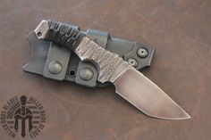 Miller Bros. Blades  Custom Knife in Z-Wear PM steel. Visit our website for more info on this and other models of knives, Swords, Tomahawks, and Tools.