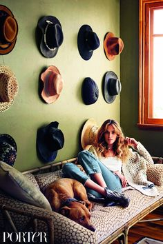 Step Inside Erin Wasson's Bohemian Venice Beach Home via @MyDomaine