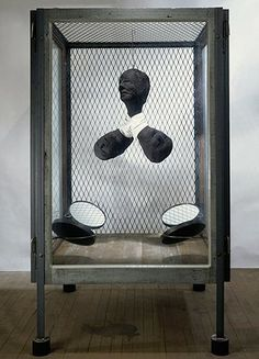 Louise Bourgeois: Louise Bourgeois at Freud Museum - Cell XXIV (Portrait)