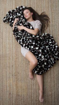 Luxury brown blanket, quilt, unique, handmade, design, interior, satu nisu design, www.satunisu.fi Interior Styling, Interior Design, Earth Color, Nordic Design, Luxury Lifestyle, Short Sleeve Dresses, Blanket, Elegant, Brown