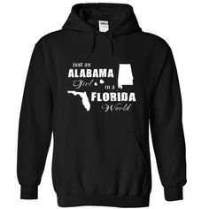 Ala in Florida - #anniversary gift #gift card. LIMITED TIME PRICE => https://www.sunfrog.com/Fishing/Ala-in-Florida-Black-4964829-Hoodie.html?68278
