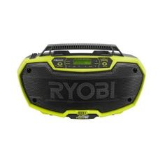 Ryobi, ONE+ 18-Volt Dual Power Stereo with Bluetooth Wireless Technology, P746 at The Home Depot - Mobile