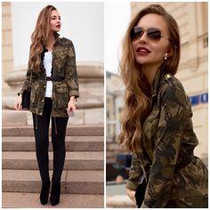 Alina N. - Military Chic