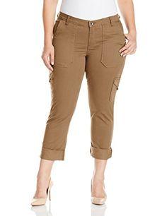 d657fb11c83 Lee Women s Plus Size Modern Series Midrise Fit Brinley Cargo Pant