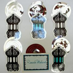 Fanoos Lantern Swirl Decoration from Eid Creations