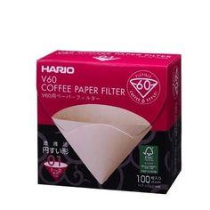 Hario Paper Filter Misarashi for V60 01 Dripper 100 sheets (Box)