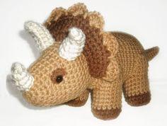 Triceratops Crochet Pattern von WolfDreamerOTH auf Etsy