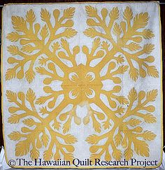 The Kalakoa Ulu Quilt- I'd like to try one in this color