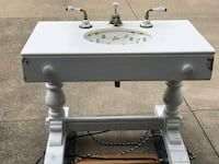 Used Antique Victorian Style Vanity Sink For Sale In Massillon