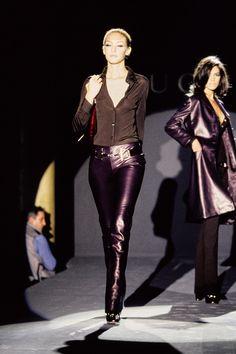 Gucci Fall 1995 Ready-to-Wear Fashion Show - Chrystèle Saint Louis Augustin