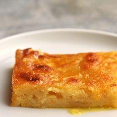 Orange Pie Recipes, Sweet Pumpkin Recipes, Mango Dessert Recipes, Greek Recipes, Greek Sweets, Greek Desserts, Just Desserts, Portokalopita Recipe, Greek Dishes