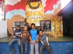 Voluntarios y coordinadores del Proyecto de Jocotenango