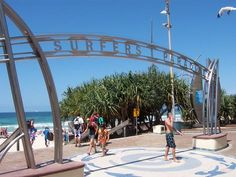 The home of the famous Surfers Paradise Arch and the place to put down your towel and catch some rays. Oh The Places You'll Go, Places To Travel, Places Ive Been, Travel Destinations, Gold Coast, Dream Vacations, Vacation Spots, Surfers Paradise, Famous Surfers