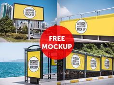 Outdoor Advertising Mock Up on Behance