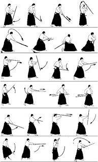 Bokken kata exercise