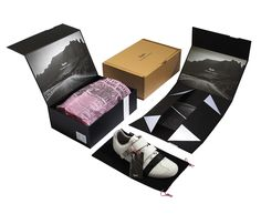#Packaging inspiration   #869 Rapha Grand Tour #Shoe by Irving & Co