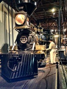 Train Museum in Old Sacramento