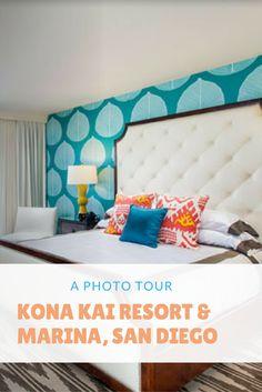 A Photo Tour of Kona Kai Resort & Marina, San Diego, California, USA