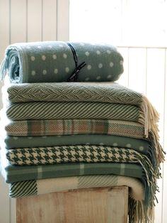 Woollen Throws & Woollen Rugs - Foxford Woollen Mills - Co. Irish Decor, Irish Design, Irish Cottage, Woolen Mills, Textiles, Cushions, Pillows, Throw Rugs, Soft Furnishings