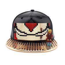 Lego Hat, Custom Lego, Baseball Hats, Crochet Hats, Crafts, Knitting Hats, Baseball Caps, Manualidades, Caps Hats