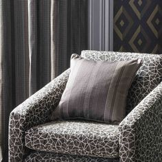 New for AW16, Wedgwood Fabrics & Wallcoverings by Blendworth, Arris collection.
