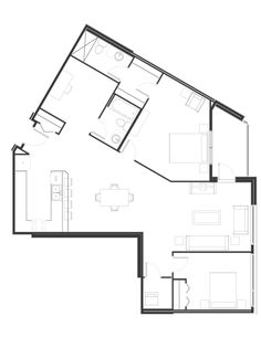 Peterson Landing New Apartments for rent in Kamloops on Summit Drive, Sahali Apartments, Landing, Den, Furniture Design, Floor Plans, Group, Type, Bedroom, Bedrooms