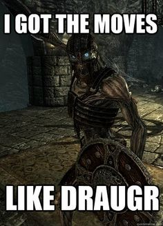 Skyrim funny<-- what the original pinner put. No person, I hate these things with a passion! Stupid little things get on my nerves!!!