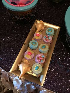Gorgeous cookies at a Princess Jasmine birthday party! See more party planning ideas at CatchMyParty.com!