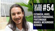 Vlog Diário #54 - Eutanásia, Anjos, Receber Pombagiras, Fraternidade bra...