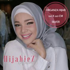 20 Best Hijab Organza Silk Premium Square Images On Pinterest