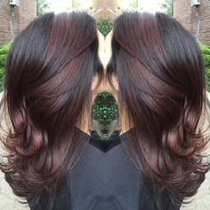 """""""Got this cool berry by mixing 5bv & 8sb #americansalon #angelofcolour #anthonythebarber916 #btcpics #cranford #elumen #guytang #goldwell #goldwelleducation #hairporn #haircolor #hudabeauty #hairbrained #hairoftheday #instglam #instahair #modernsalon #newjersey #stylistshopconnect"""" Photo taken by @colormechristine on Instagram, pinned via the InstaPin iOS App! http://www.instapinapp.com (08/28/2015)"""