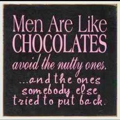 men are like chocolates - Google Search