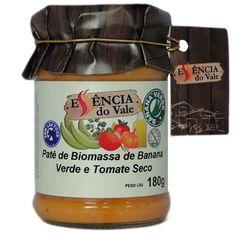 Patê de Biomassa de Banana Verde e Tomate Seco   180g
