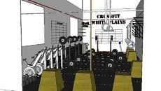 3D Model of 600 sqft Small Crossfit Facility