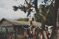 Ravensheugh Log Cabin wedding