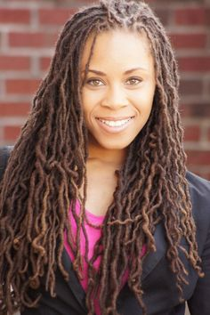 Locs Revolutionary Jennifer Walkes - I love the size and look of these locs