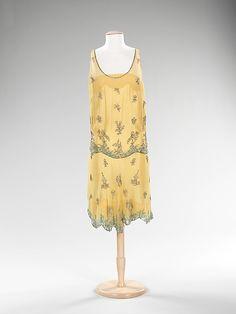 Evening Dress 1928, American, Made of silk