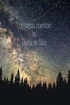 Los cielos cuentan la gloria de Dios #wallpaper #fondo de pantalla #cristiano