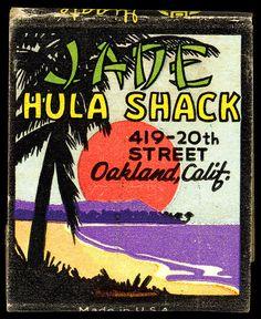 1940's Jade Hula Shack-Oakland, CA
