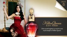"""Free Killer Queen Sample by Katy Perry. Click here and """"Like"""" the FB page"""