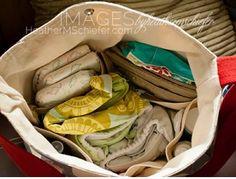 BEST SELLER Diaper bag / Messenger bag STOCKHOLM Gray  by ikabags, €104.00