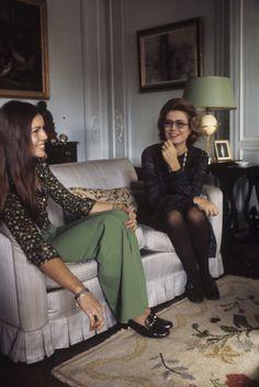Grace et Caroline de Monaco 1976