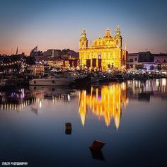 #GoodEvening from #Msida #Malta - Thanks to @bazcreme for the #photo  Tag your #photos with #MaltaPhotography to get a chance to be featured on @maltaphotography - http://ift.tt/1fpoK0v