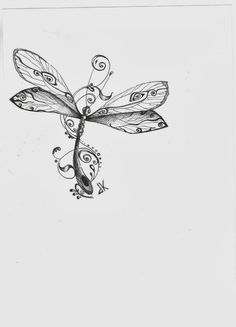 dandelion and dragonfly tattoo - Google Search