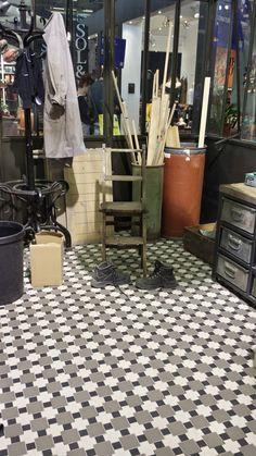 Commercial Showroom Floor Mosaic Design