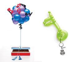 If It's Hip, It's Here: Shanghai Tang Holiday Catalog's Balloon Art Will Leave You Breathless