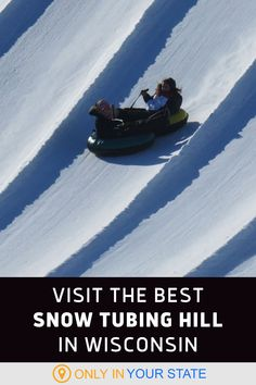 Have a family-friendly winter adventure in Wisconsin! If you're looking for fun things to do, this thrilling snow tubing hill is a perfect pick.
