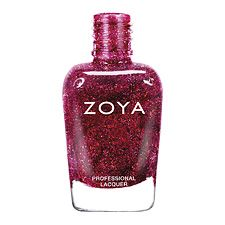 Zoya Nail Polish in Blaze - full coverage, cool undertone plum with a high concentration of micro fine diamond holographic glitter www.zoya.com/content/38/item/Zoya/Zoya-Nail-Polish-in-Blaze-ZP641.html?O=PN120921FR13191