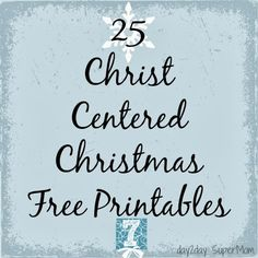 free christian christmas printables